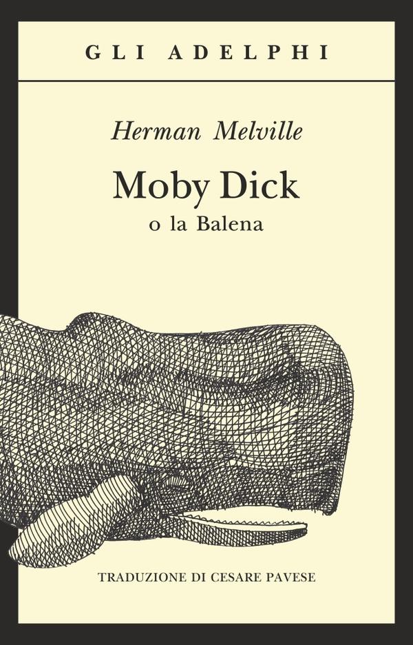 Risultati immagini per moby dick adelphi copertina
